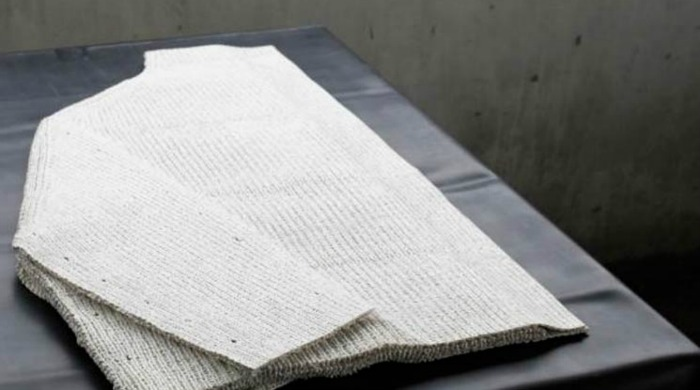 A jumper designed by Alice Gibberd.