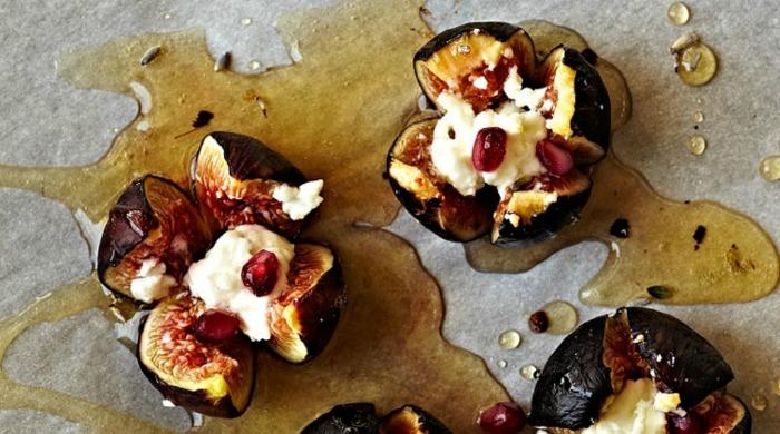goat-cheese-stuffed-figs recipe