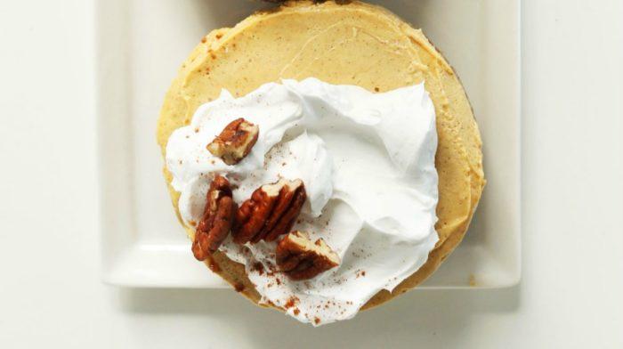 Vegan Pumpkin Cheesecake