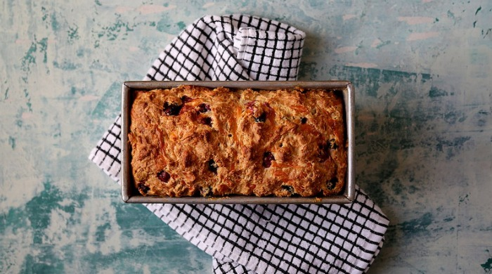 cheddar cranberry soda bread
