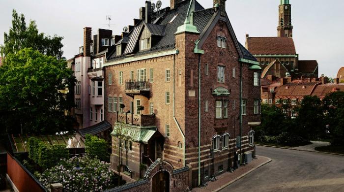 The Ett Hem hotel, Stockholm.