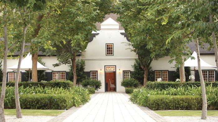 The Grande Provence Heritage Wine Estate, Franschhoek.