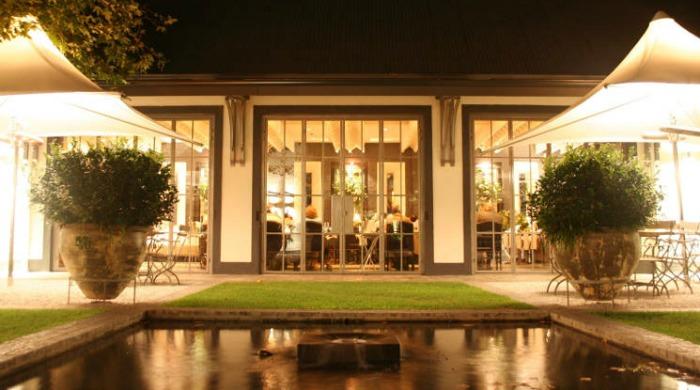 The gardens of Grande Provence Heritage Wine Estate, Franschhoek.