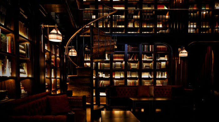 A library inside the NoMad Hotel, New York.