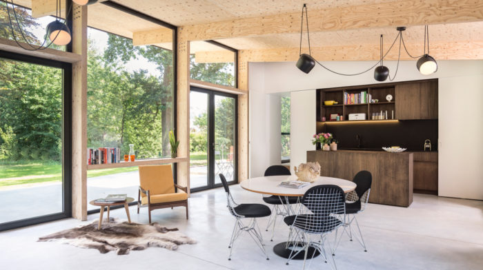 A Light-Filled Home in Belgium