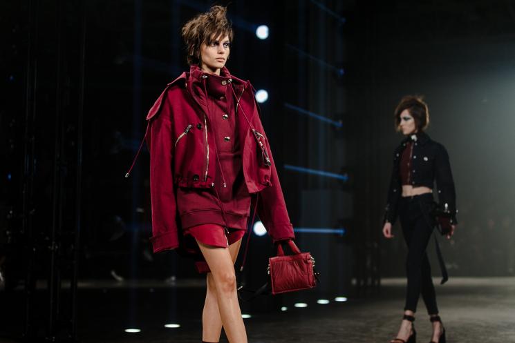 versus versace aw17 drawstring jacket