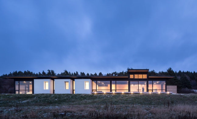 A Cliff Top Cabin in Nova Scotia