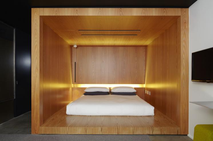 hotel americano bed
