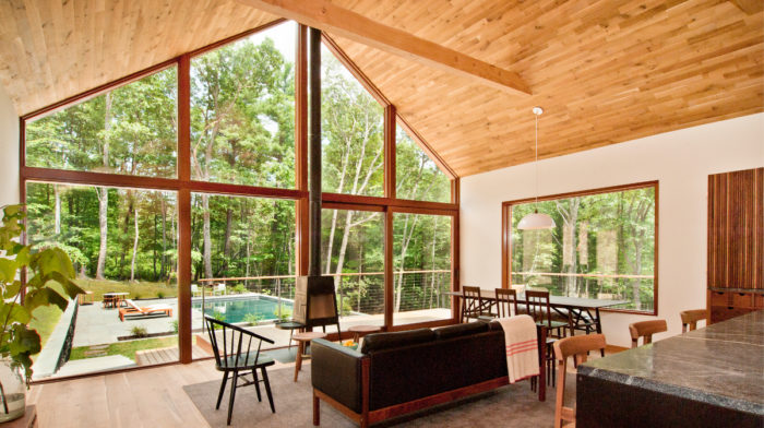 Mid-Century Cabins in Upstate New York