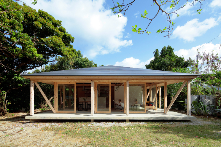 contemporary okinawa villa
