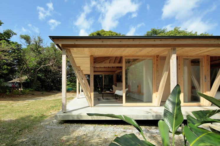 okinawa villa exterior