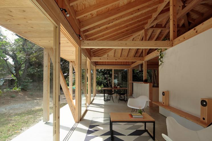 okinawa villa living room