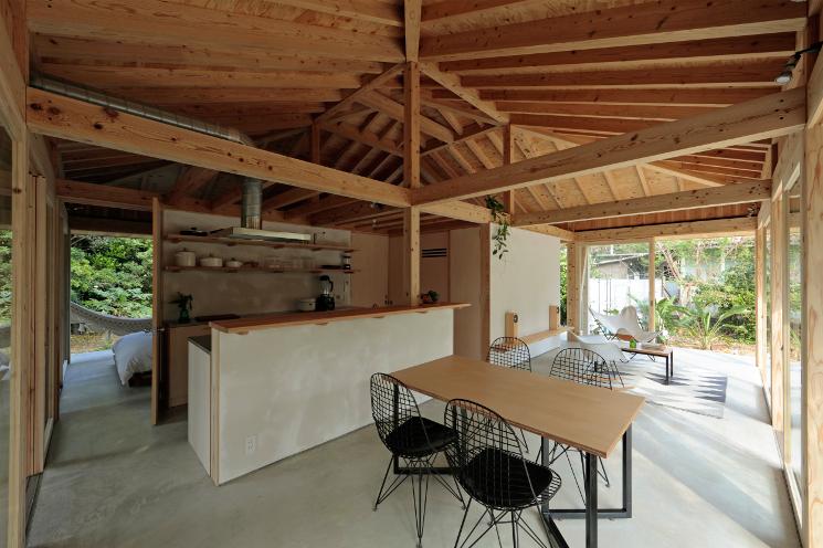 okinawa villa living space