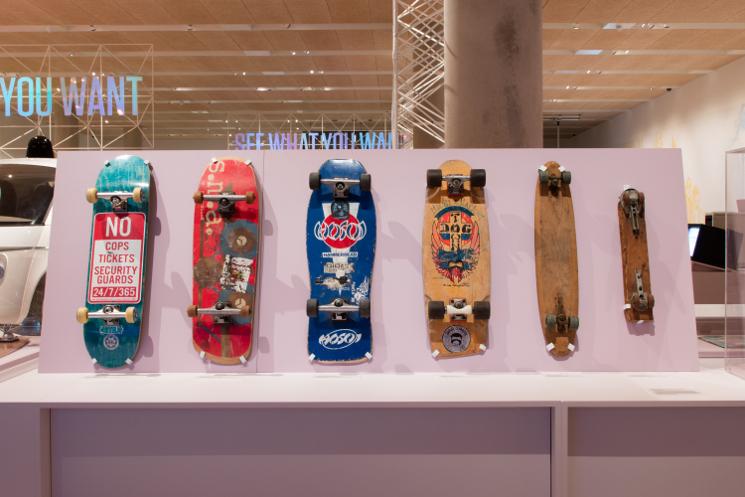 skateboards california exhibition