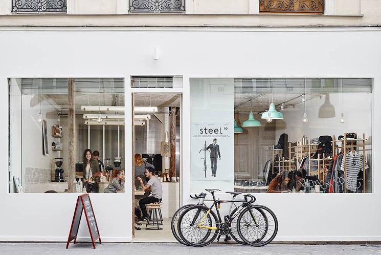 steel cafe paris