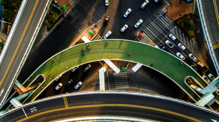 The World's Longest Elevated Cycling Path