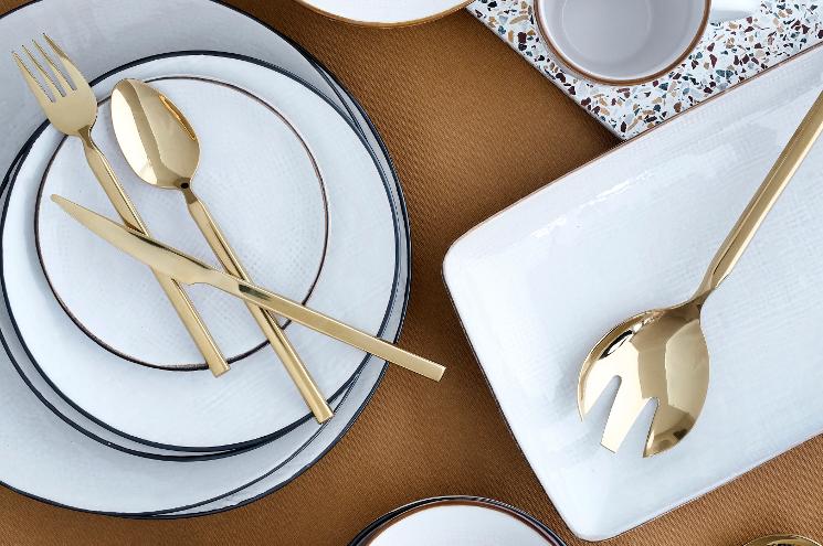 broste copenhagen gold cutlery