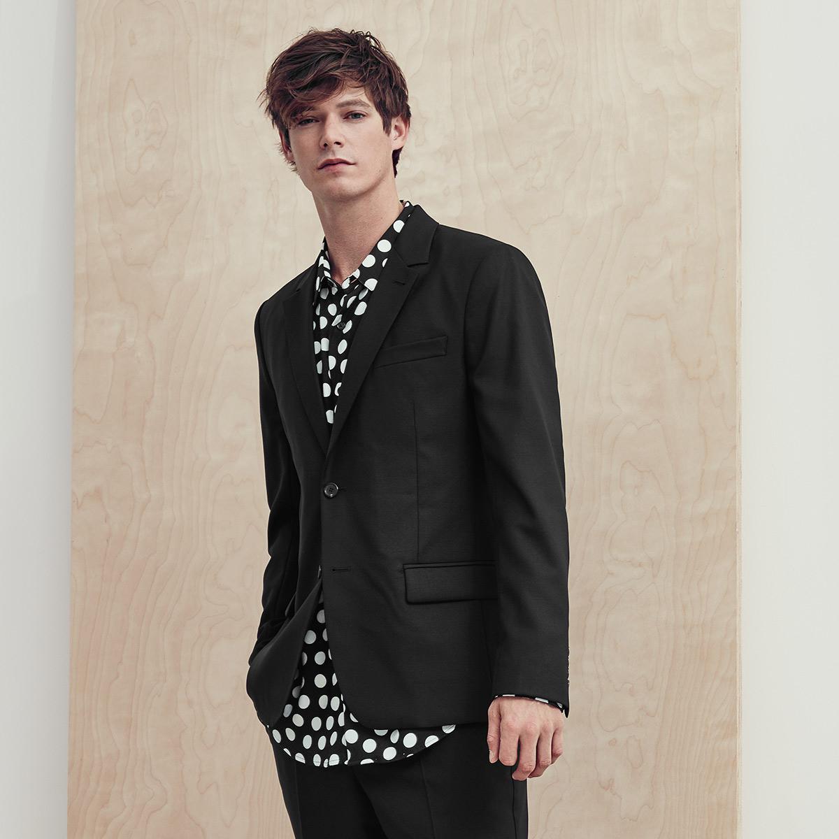 Men's AMI Black Suit