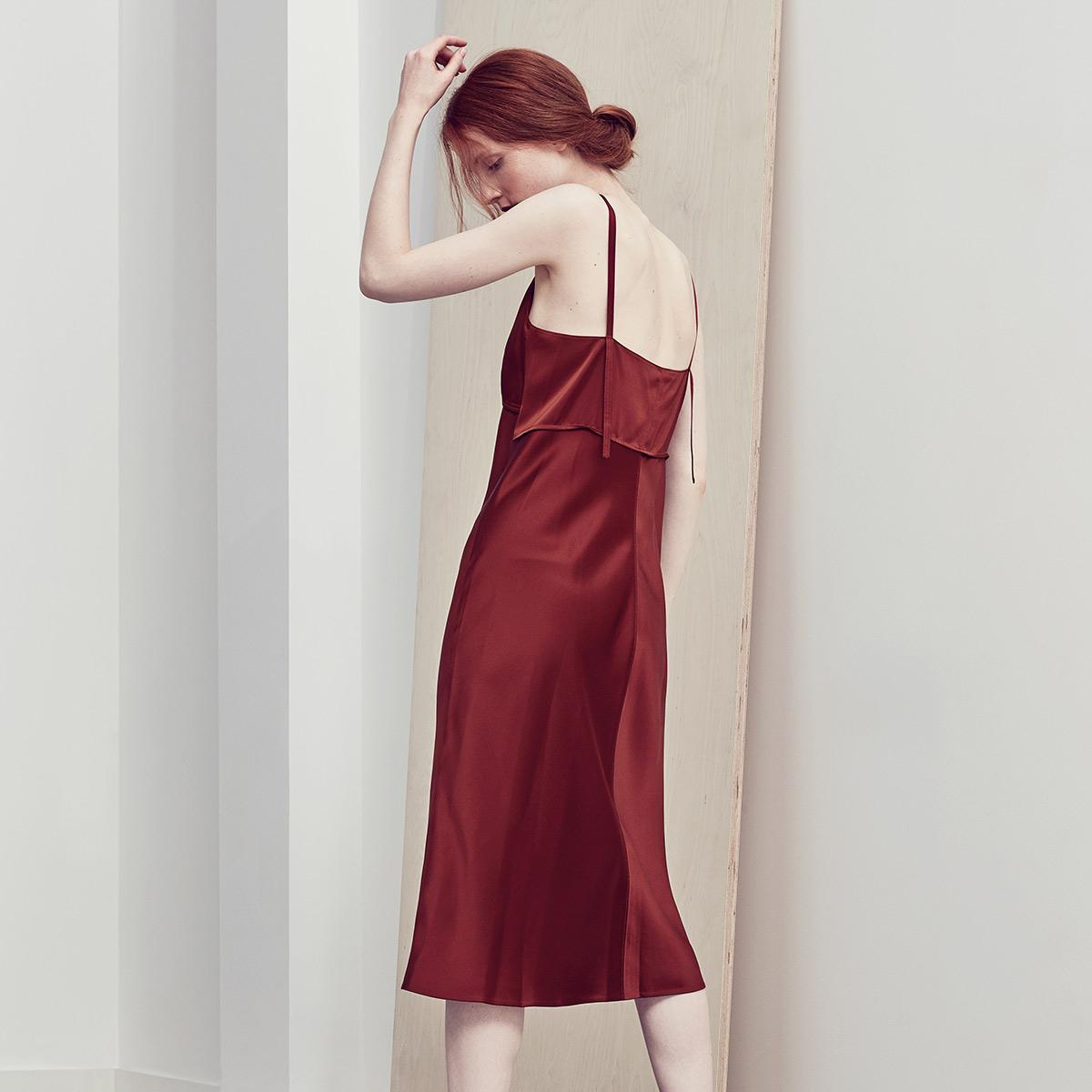 Women's Red Helmut Lang Dress