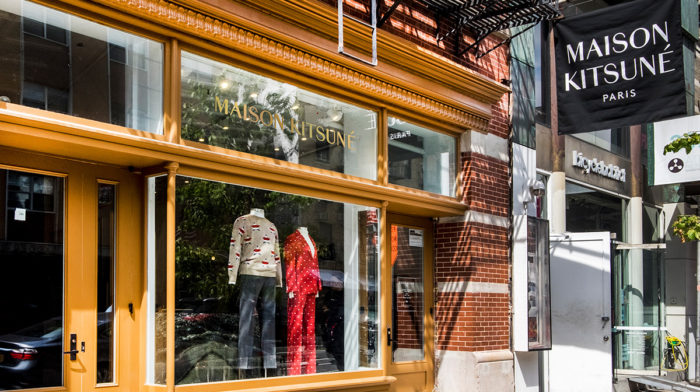 Inside Maison Kitsuné's New York City Flagship Store