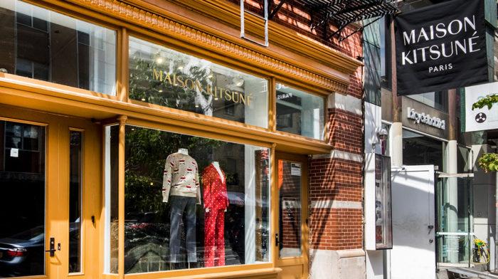 Inside Maison Kitsuné's New York City Flagship Store