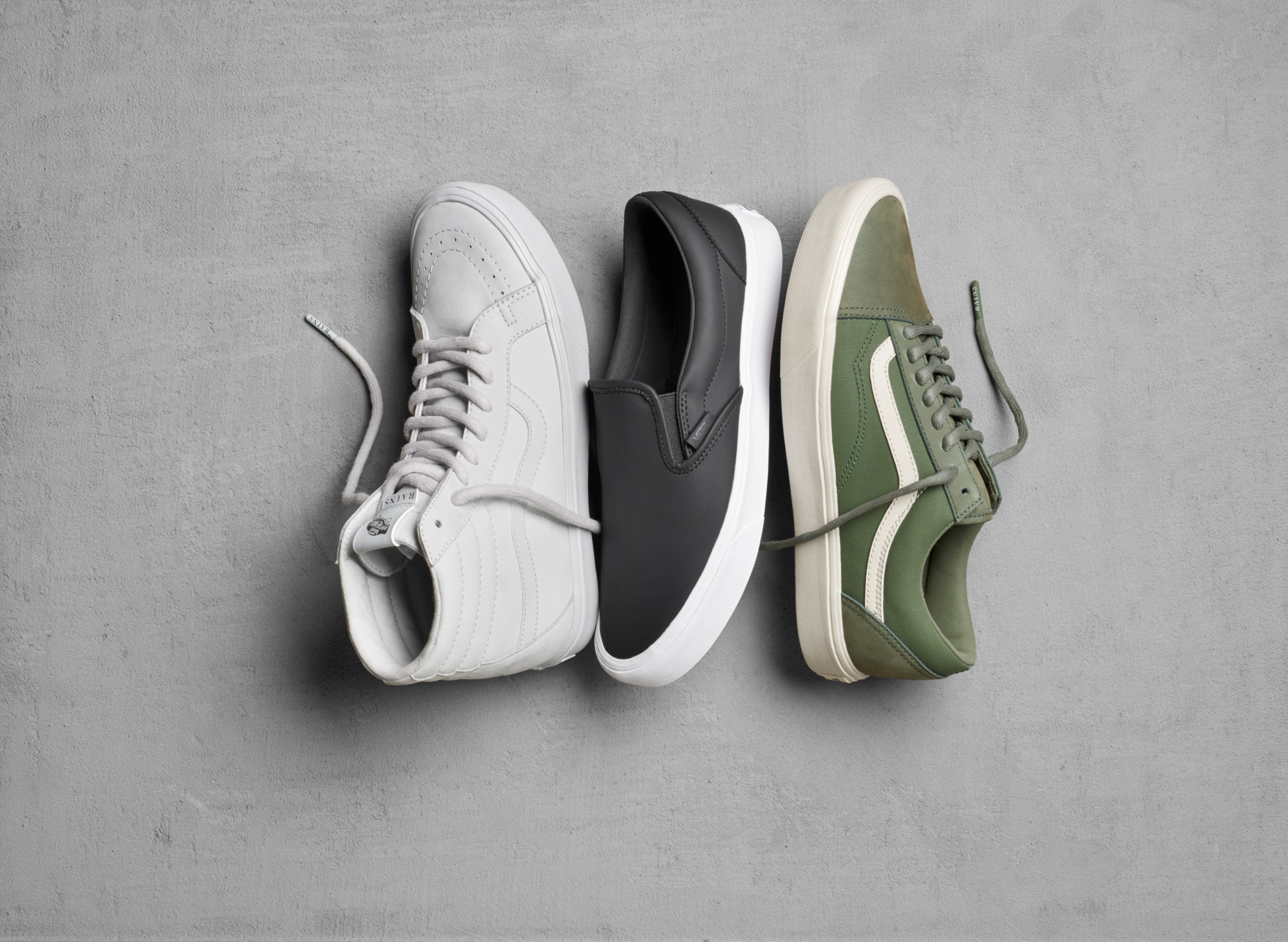 Vans Team up with RAINS for a Limited Edition Spring 2018
