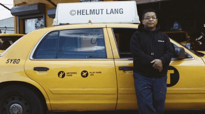 Helmut Lang Taxi Capsule Collection