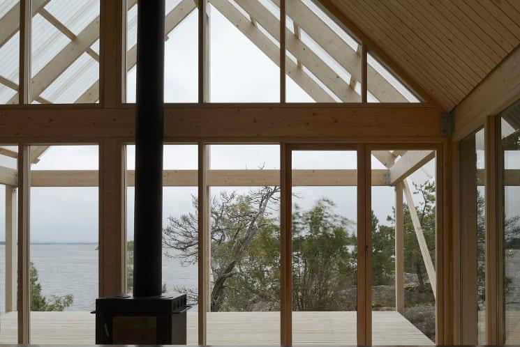 stockholm cabin terrace
