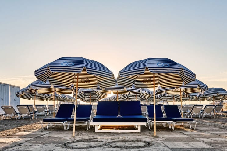 nautilus hotel beach umbrellas
