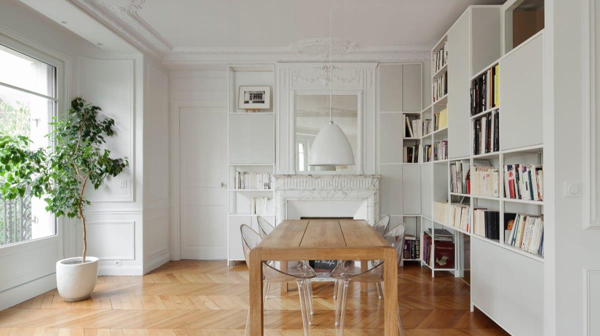 A Modern Haussmanian Apartment