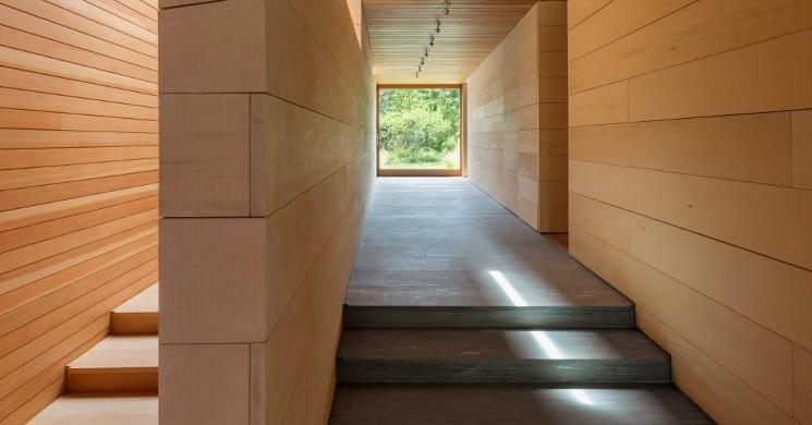 east house hallway