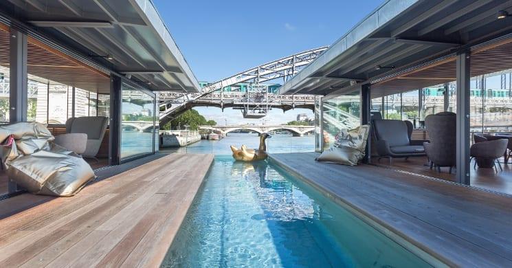 off paris seine pool
