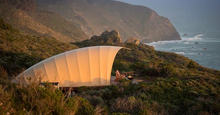 autonomous tent california