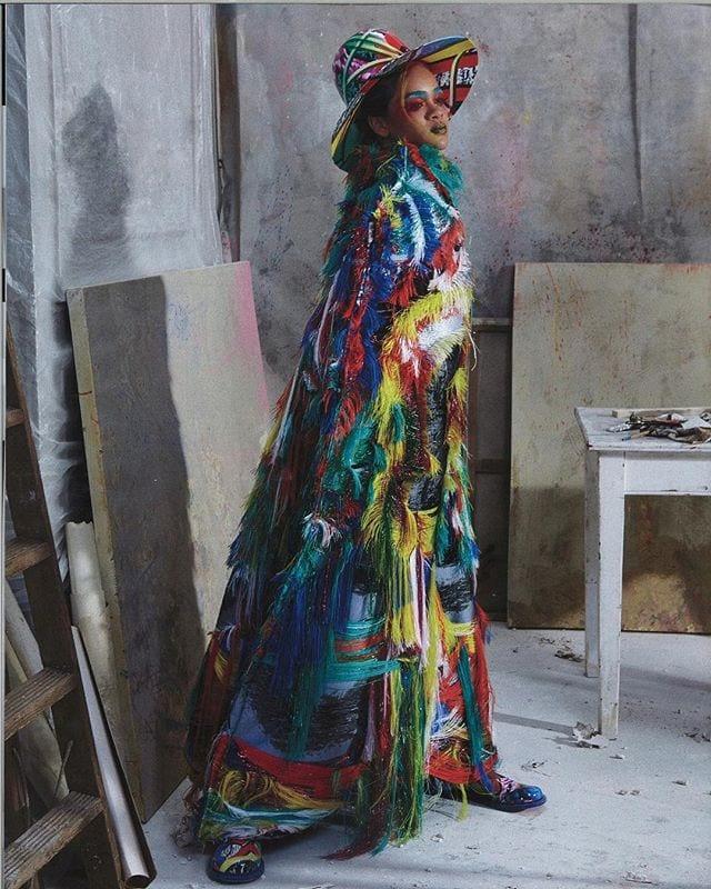Rihanna for Harper's Bazaar @MaisonMargiela