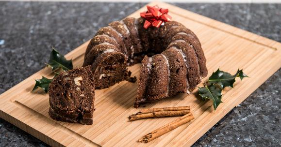 Vánoční bábovka s nízkým obsahem cukru | Recept