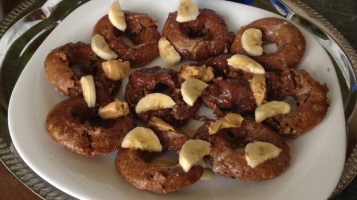 Recept: Čokoládové proteinové donuty