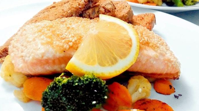 Recept: Losos v sezamové krustě