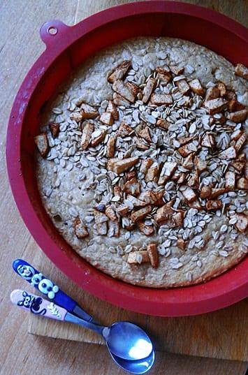 Recept: Jablečný vanilkový koláč sproteinem