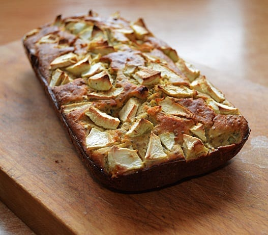 Recept: Jablečný chlebíček
