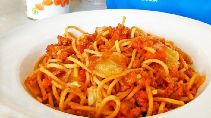 Fitness bolognské špagety
