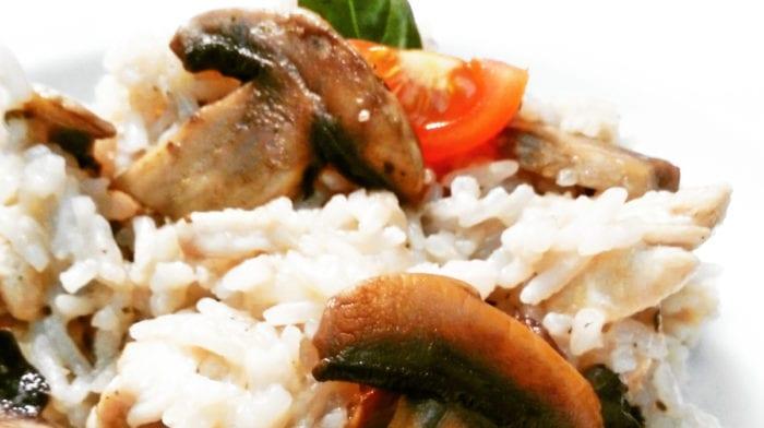Recept: Houbové rizoto