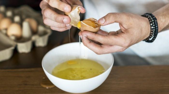 Vaječný bílek v prášku