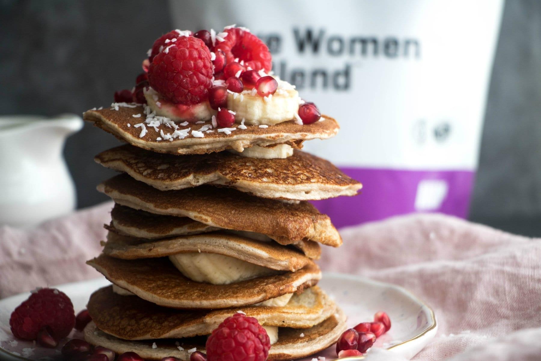 Super snadné dietní proteinové palačinky | Low-Carb snídaně