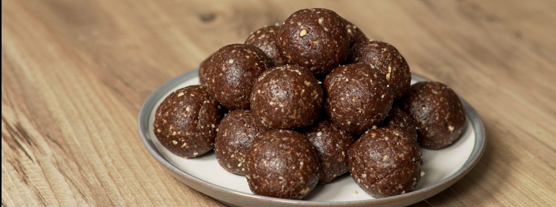 Brownies kuličky ze tří ingrediencí