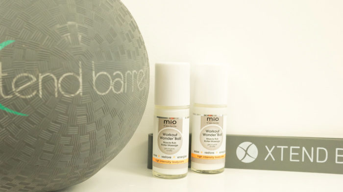 mio skincare Workout Wonder Ball Launch