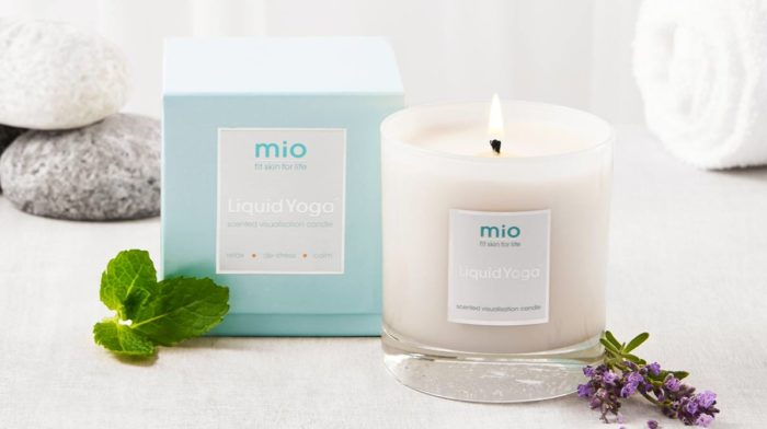 Relax And Destress With Our mio Liquid Yoga Candle