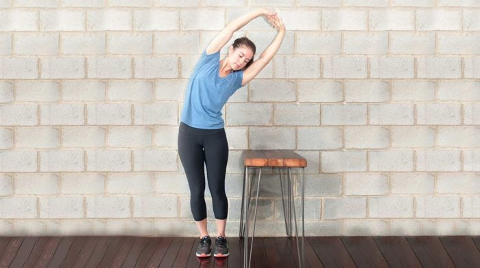 4 Desk Stretches To Ease Tension
