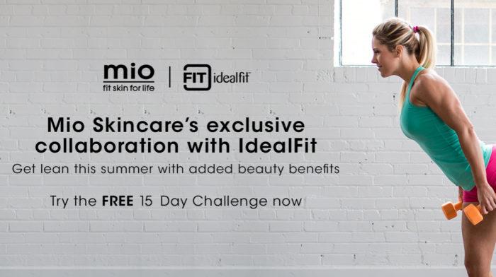 IdealFit x Mio Skincare