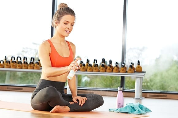 How to use Mio Liquid Yoga Space Spray