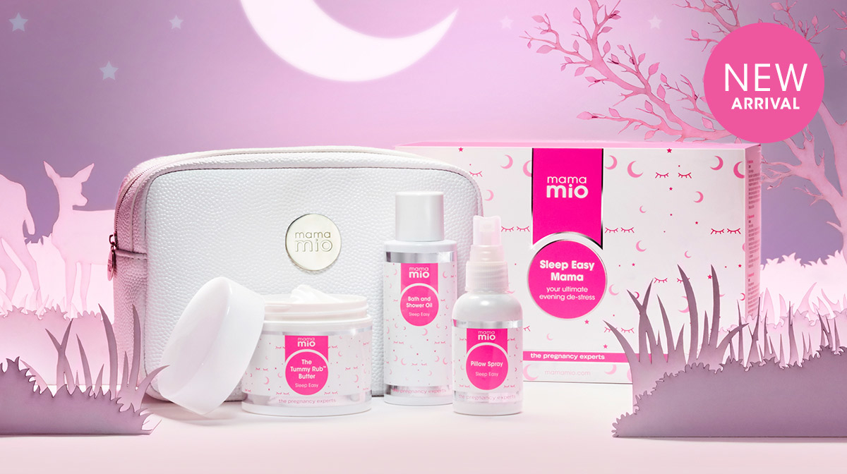 Hit snooze on pregnancy insomnia with our new Sleep Easy Mama kit